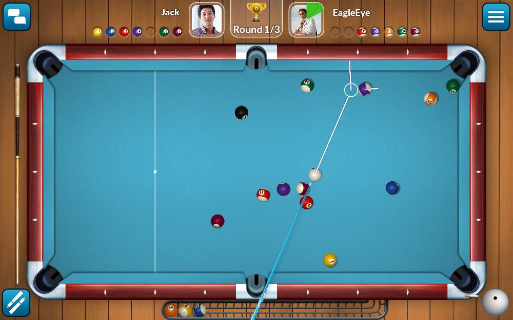 free  live billiards game